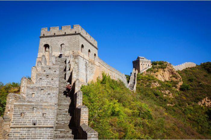 Chinese Muur - Jinshanling Steile Trappen