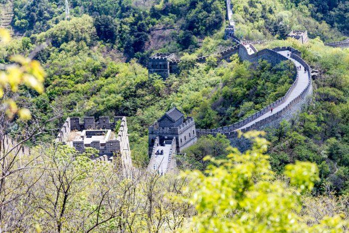 Chinese Muur - Juyongguan Uitzicht