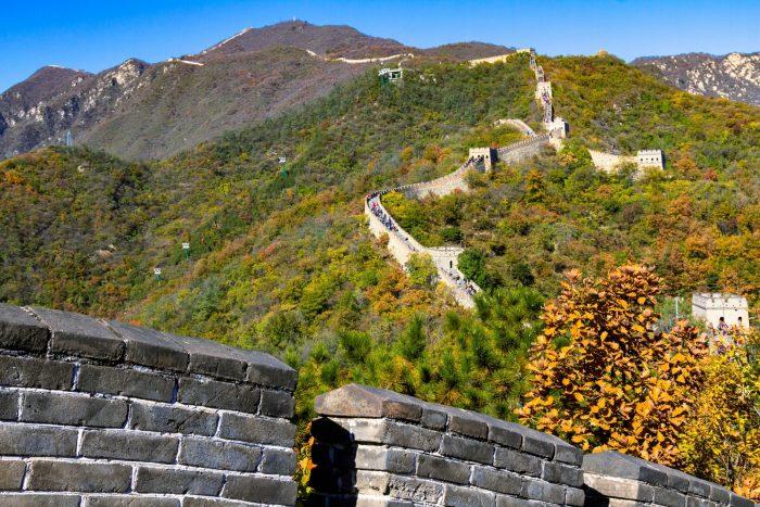 Chinese Muur - Mutianyu Bezoeken