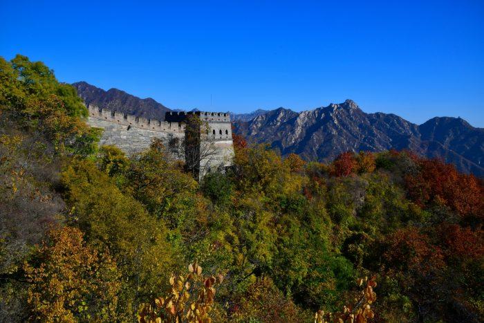 Chinese Muur - Mutianyu Uitzicht