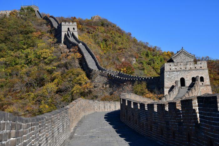 Chinese Muur - Mutianyu Wandelpad