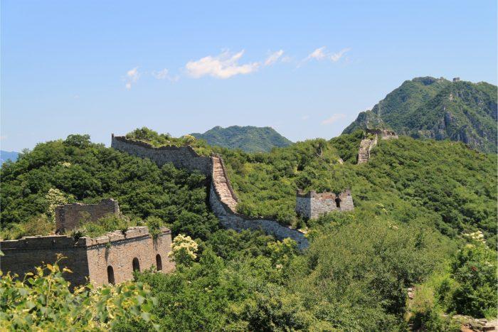 Chinese Muur - Ongerepte Jiankou Uitzicht