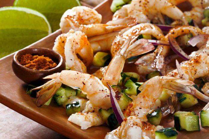 Mexicaans Eten - Aguachile