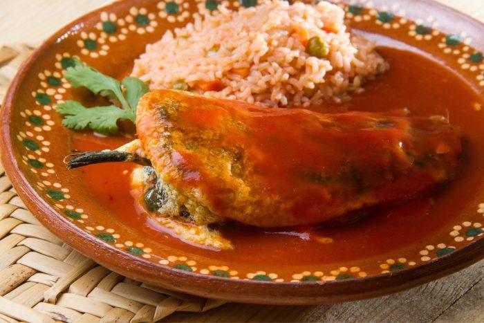 Mexicaans Eten - Chile relleno