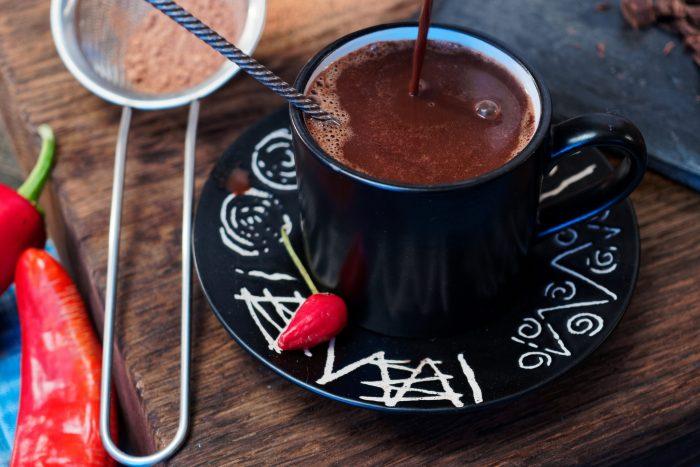 Mexicaans Eten - Warme Chocolademelk