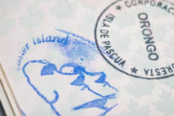 Paaseiland Paspoort Stempel