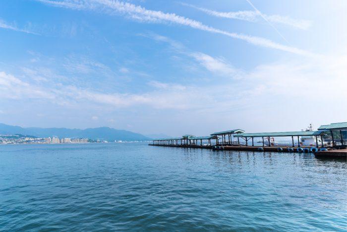 Veerboot naar Miyajima