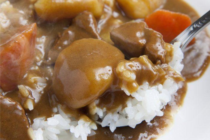 Curry Rijst - Japans Eten