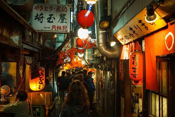 Eten in Tokyo