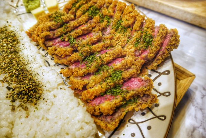 Eten in Tokyo - Gyukatsu