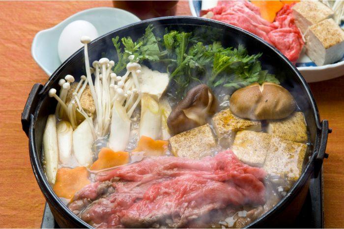 Eten in Tokyo - Sukiyaki
