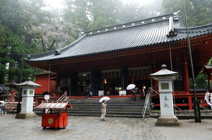 Futurasan-schrijn in Nikko