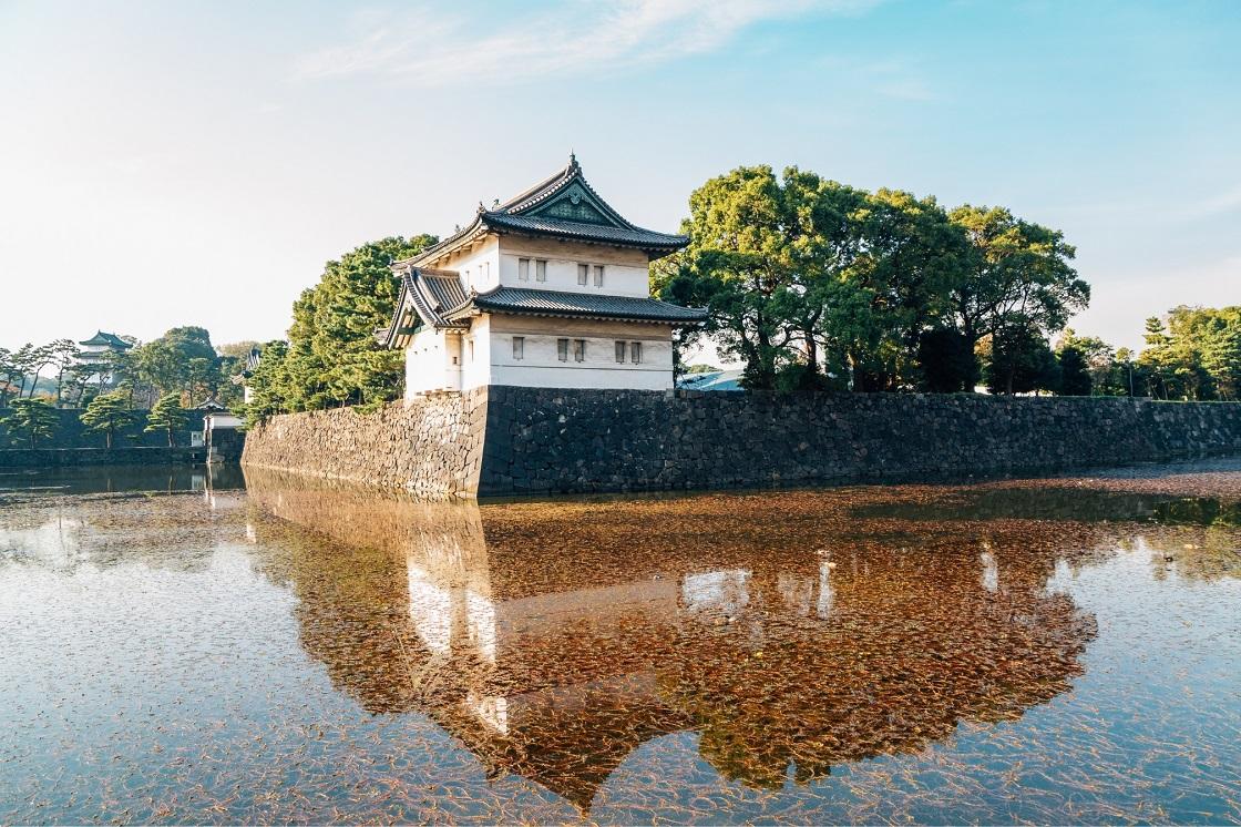 Het Keizerlijke Paleis in Tokyo
