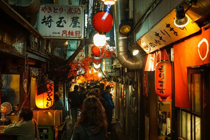 Izakaya's in Shinjuku