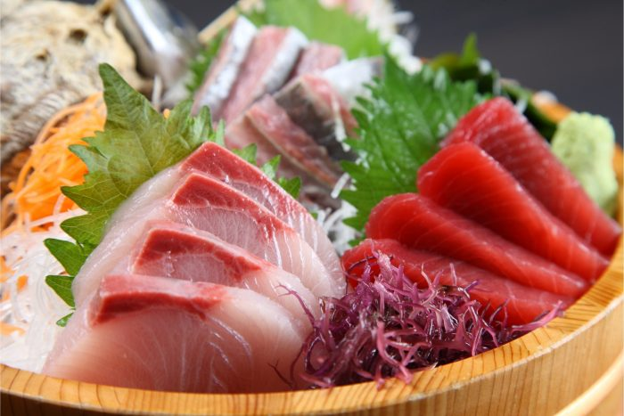 Japanse Gerechten - Sashimi