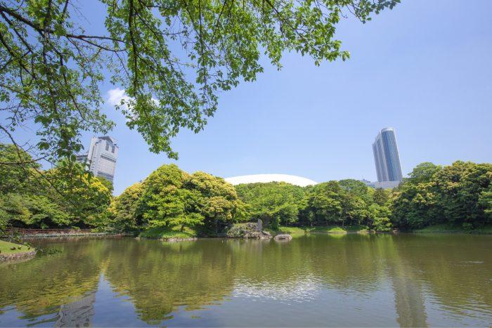 Koishikawa Korakuen Tuinen bij de Tokyo Dome