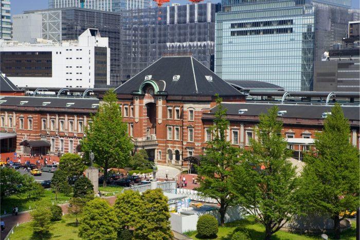 Marunouchi bij Tokyo Station