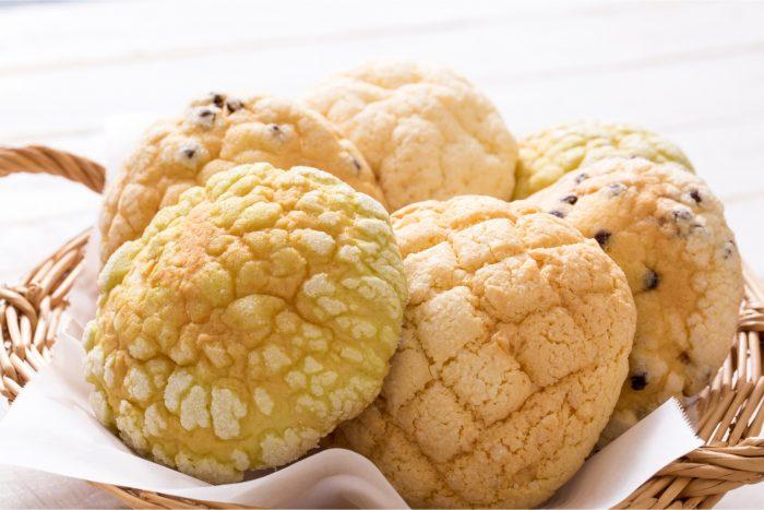 Melonpan brood, een vorm van Japanse Kashipan