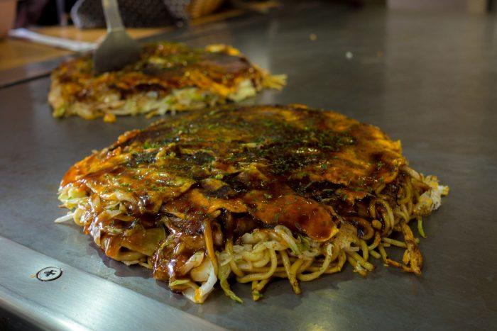 Okonomiyaki - Japanse Gerechten