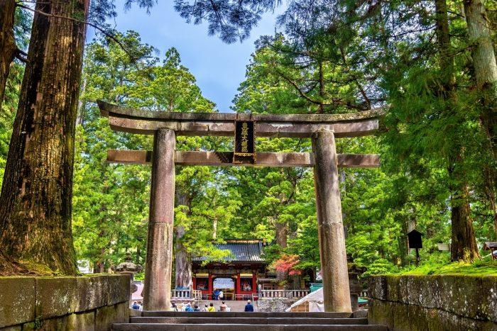 Poort naar de Toshogu-schrijn