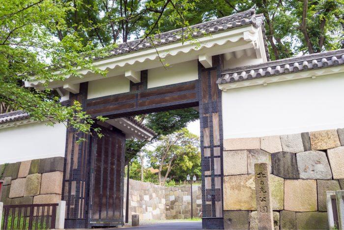 Poort voor Kitanomaru Park