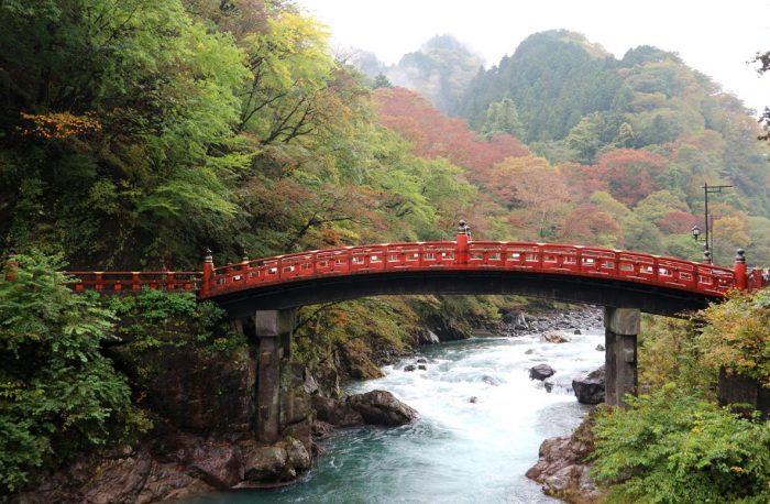 Shinkyo Brug in Nikko