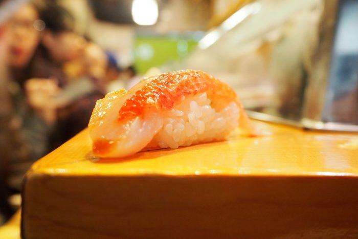 Sushi Dai bij Tsukiji Vismarkt