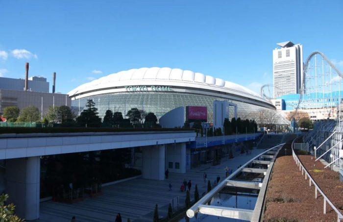 Tokyo Dome City in Tokyo