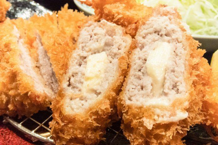 Tonkatsu met kaas
