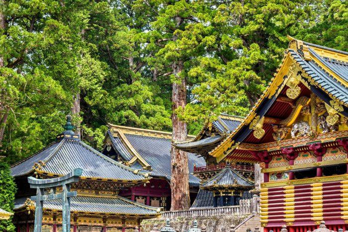Toshogu-schrijn bezoeken in Nikko