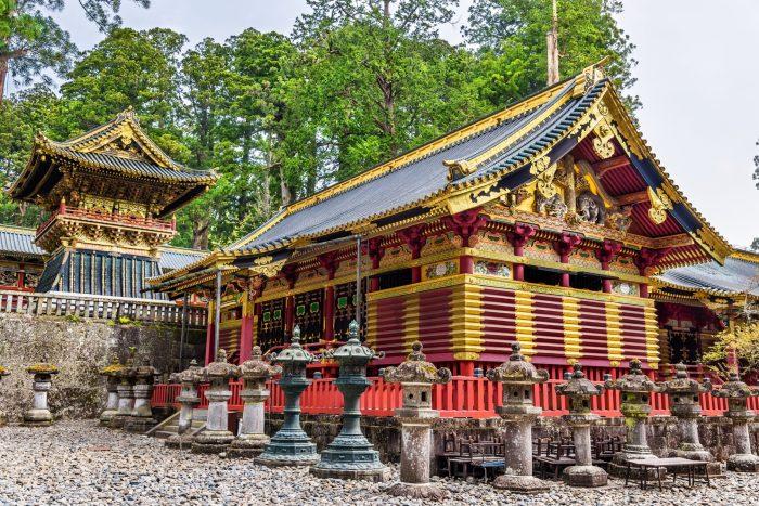 Toshogu-schrijn in Nikko, Japan