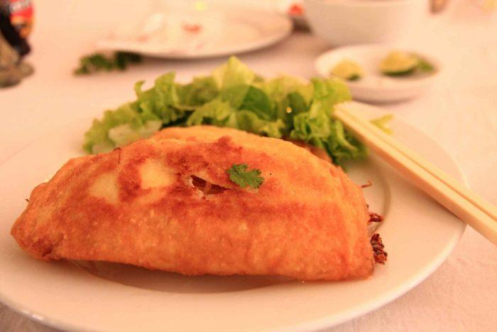 Banh xeo (Vietnamese pannenkoek)