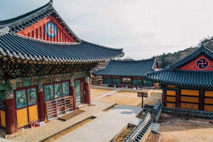 Donghwasa Tempel
