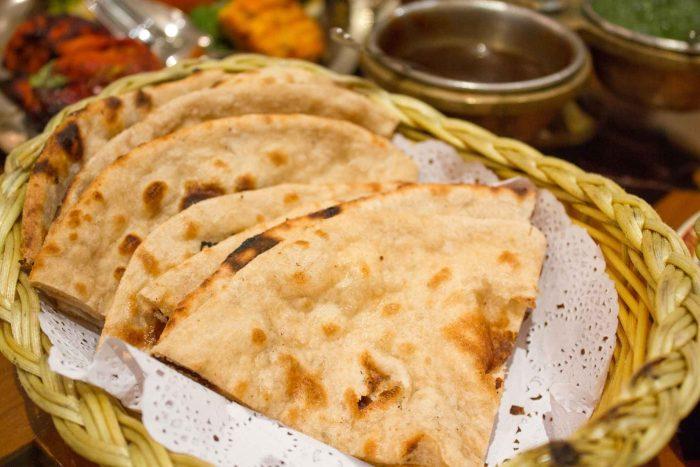 Indiase Naan (Platbrood of Flatbread)