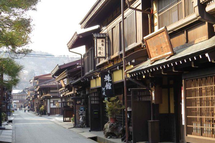 Japans straatje in Hida Takayama
