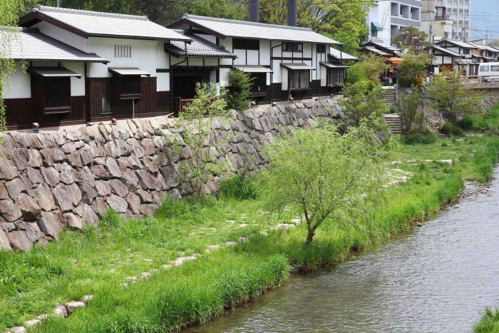Japanse huizen in Matsumoto