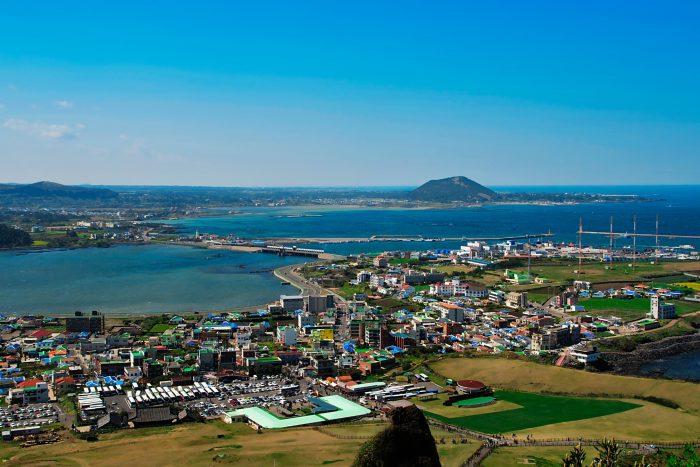 Jeju Eiland in Zuid-Korea