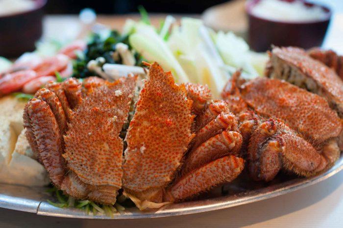 Kegani - Krab gerecht van Sapporo
