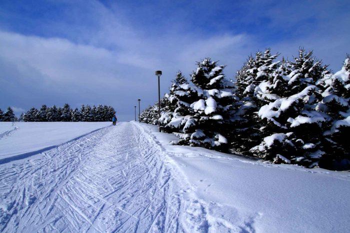 Sapporo winterlandschap