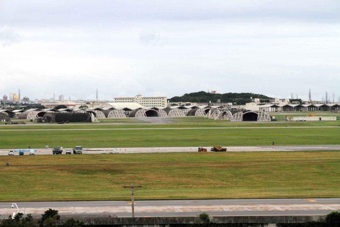 Amerikaanse militaire basis op Okinawa