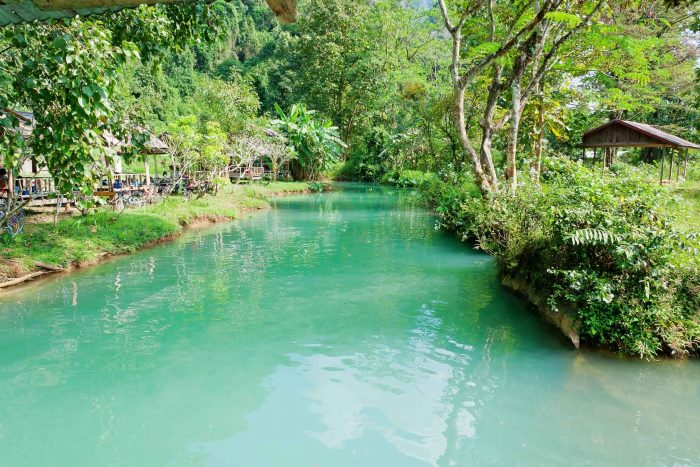Blue Lagoon in Vang Vieng