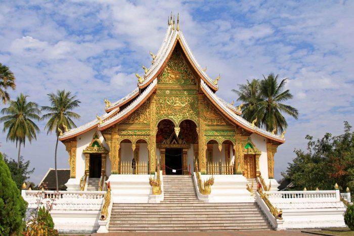 Het Koninklijk Paleis (Haw Kham) in Luang Prabang