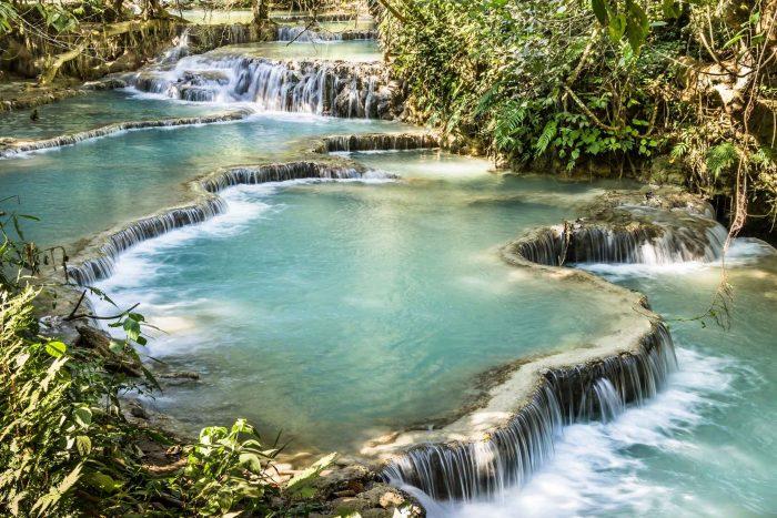 Kuang Si watervallen in Luang Prabang