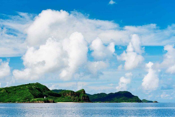 Kustlijn van Iriomote, Okinawa