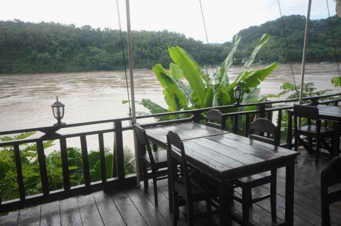 Mekong Sunset Guest House naast de rivier