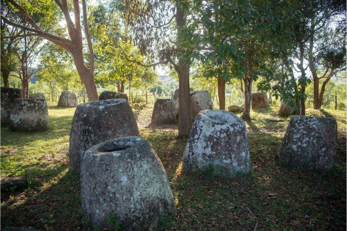 Phonsavan en Plain of Jars in Laos
