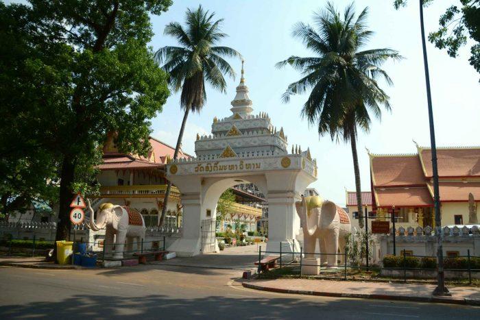 Poort naar Wat Ong Theu