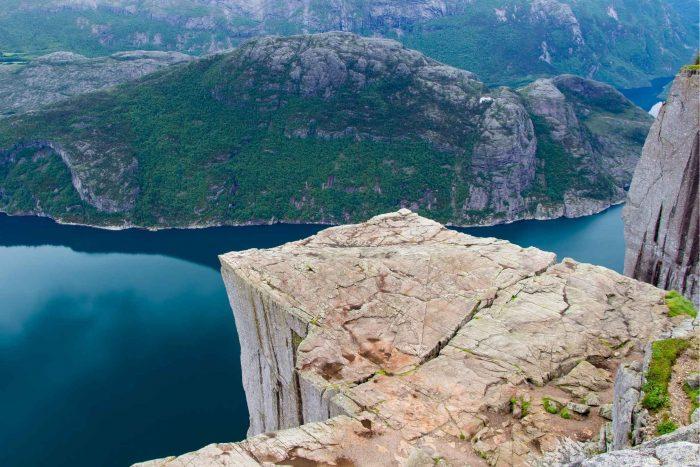 Preikestolen in Noorwegen