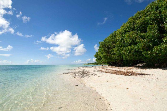 Strand op Taketomi eiland (Okinawa)