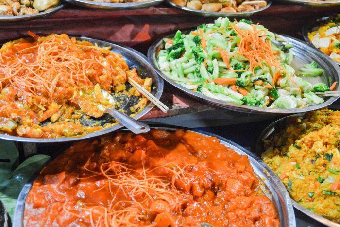 Vegetarische Laotiaanse gerechten